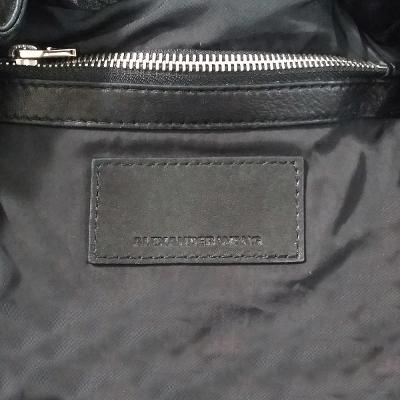 marti zipper backpack black